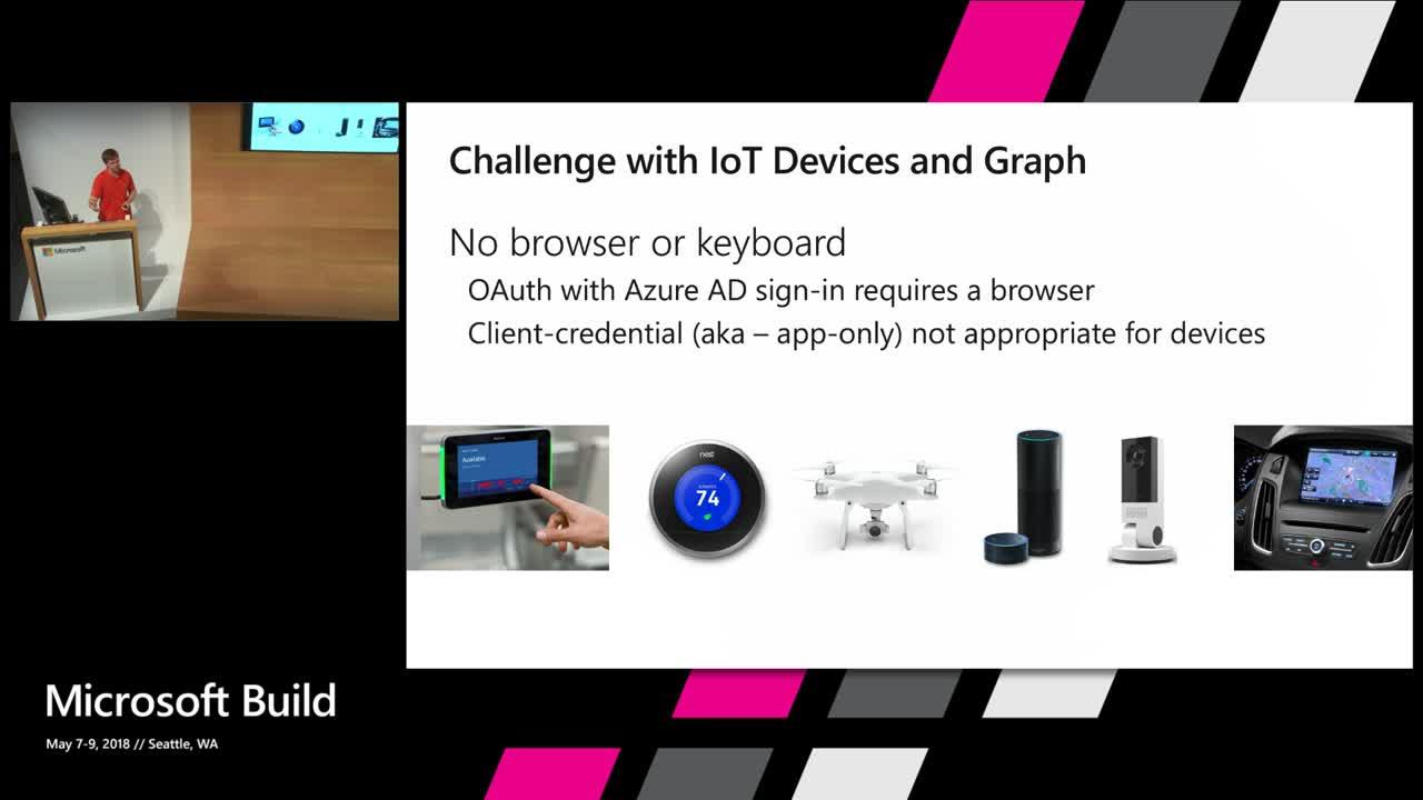 Intelligent Edge: Microsoft Graph and IoT
