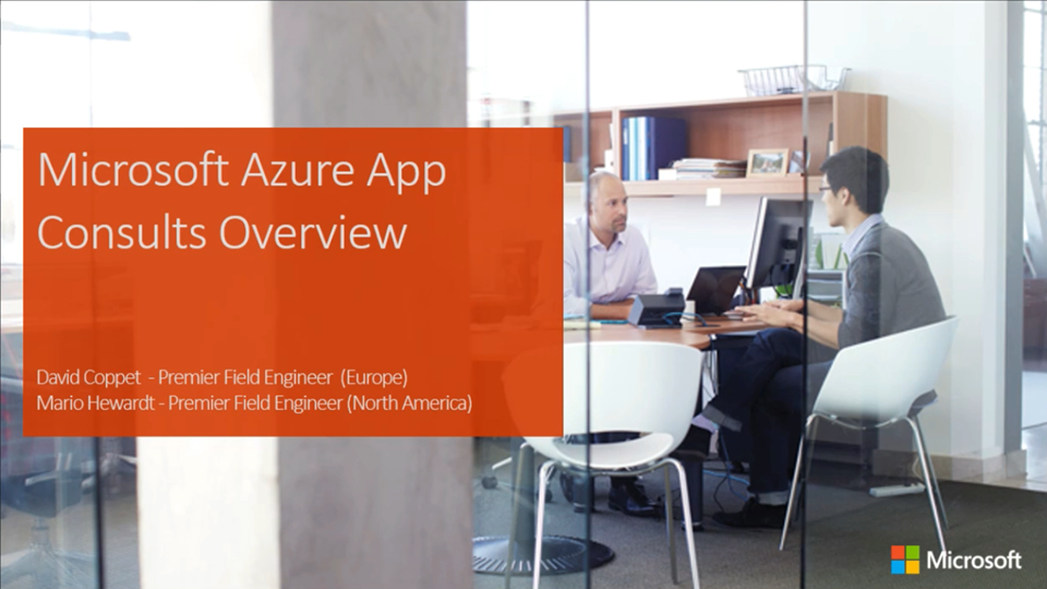 Microsoft Azure App Consults Overview